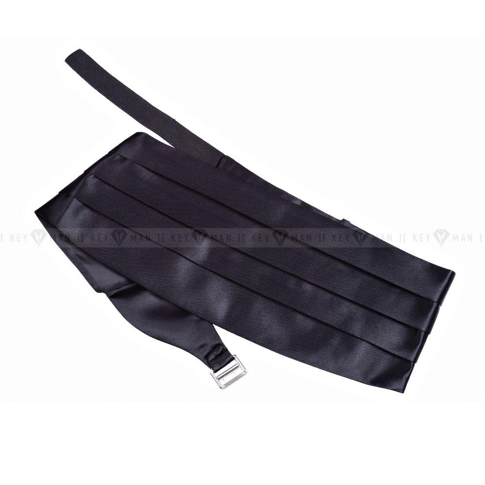 Пояс (камербанд) для смокинга черный