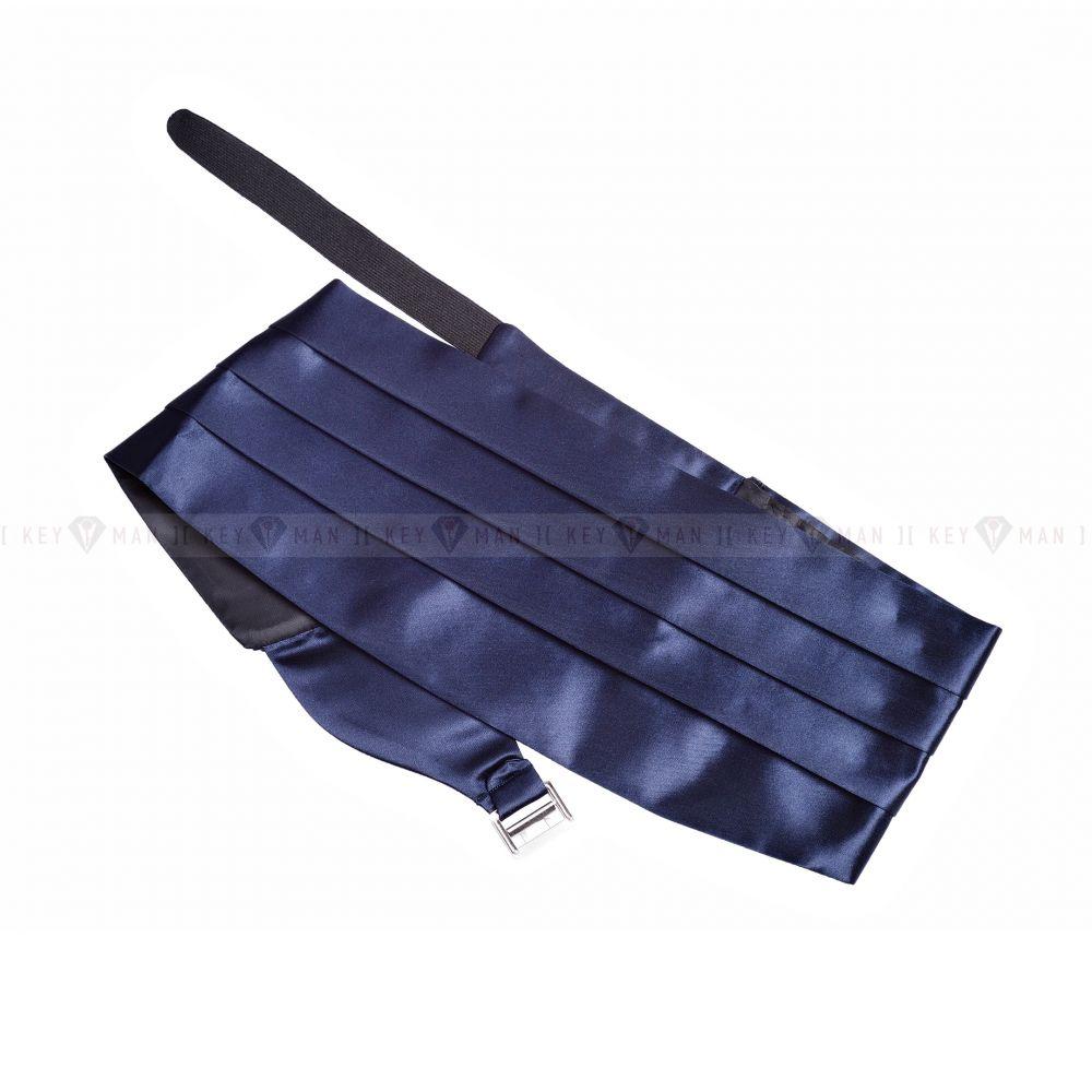 Пояс (камербанд) для смокинга синий