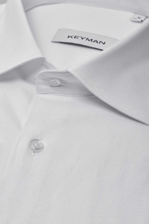 Рубашка мужская белая оксфорд