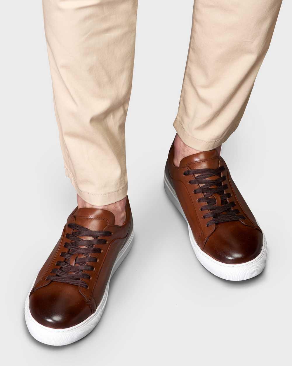 Кеды мужские коричневые