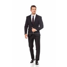 Пиджак мужской черный трикотажный