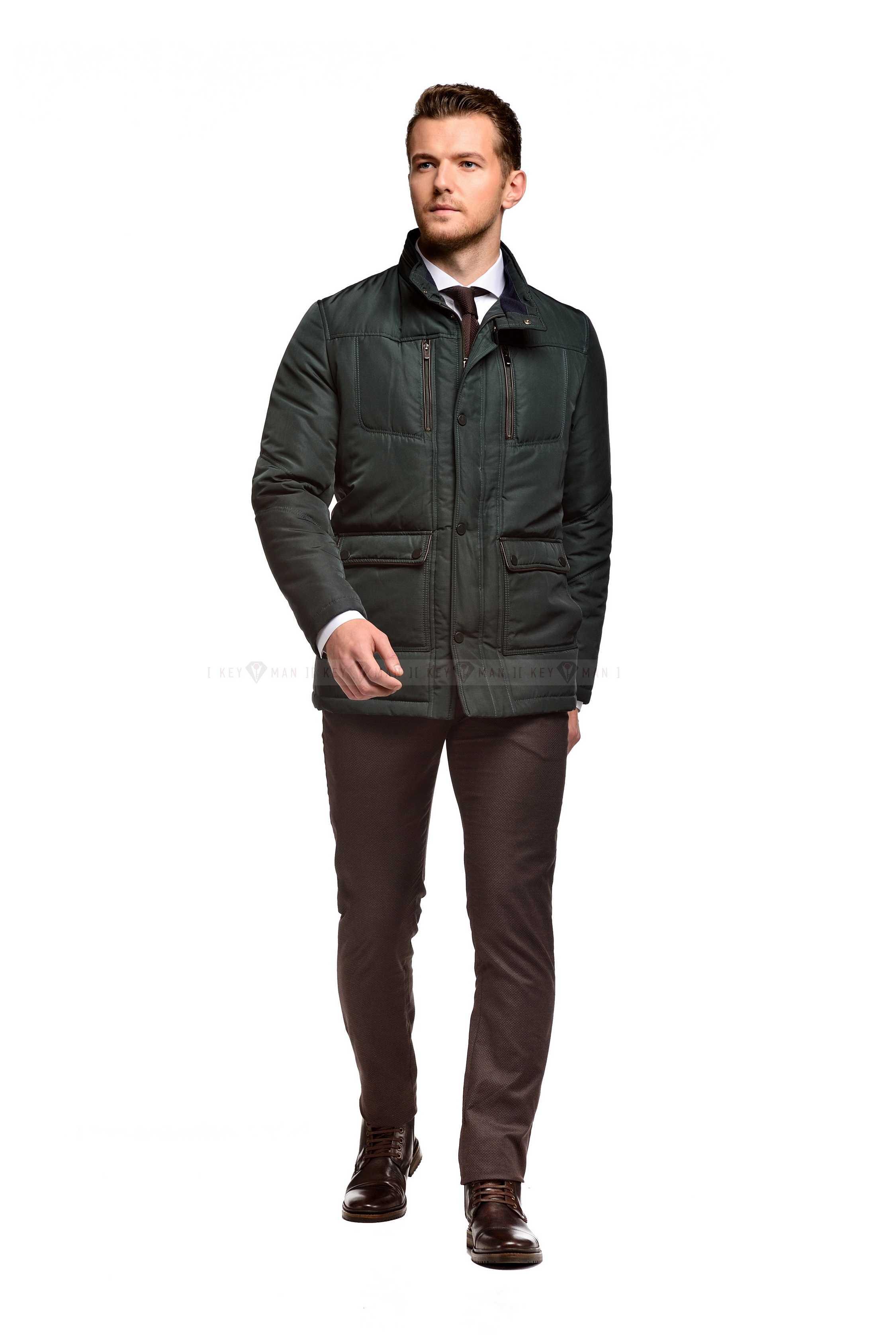 Куртка мужская зеленая