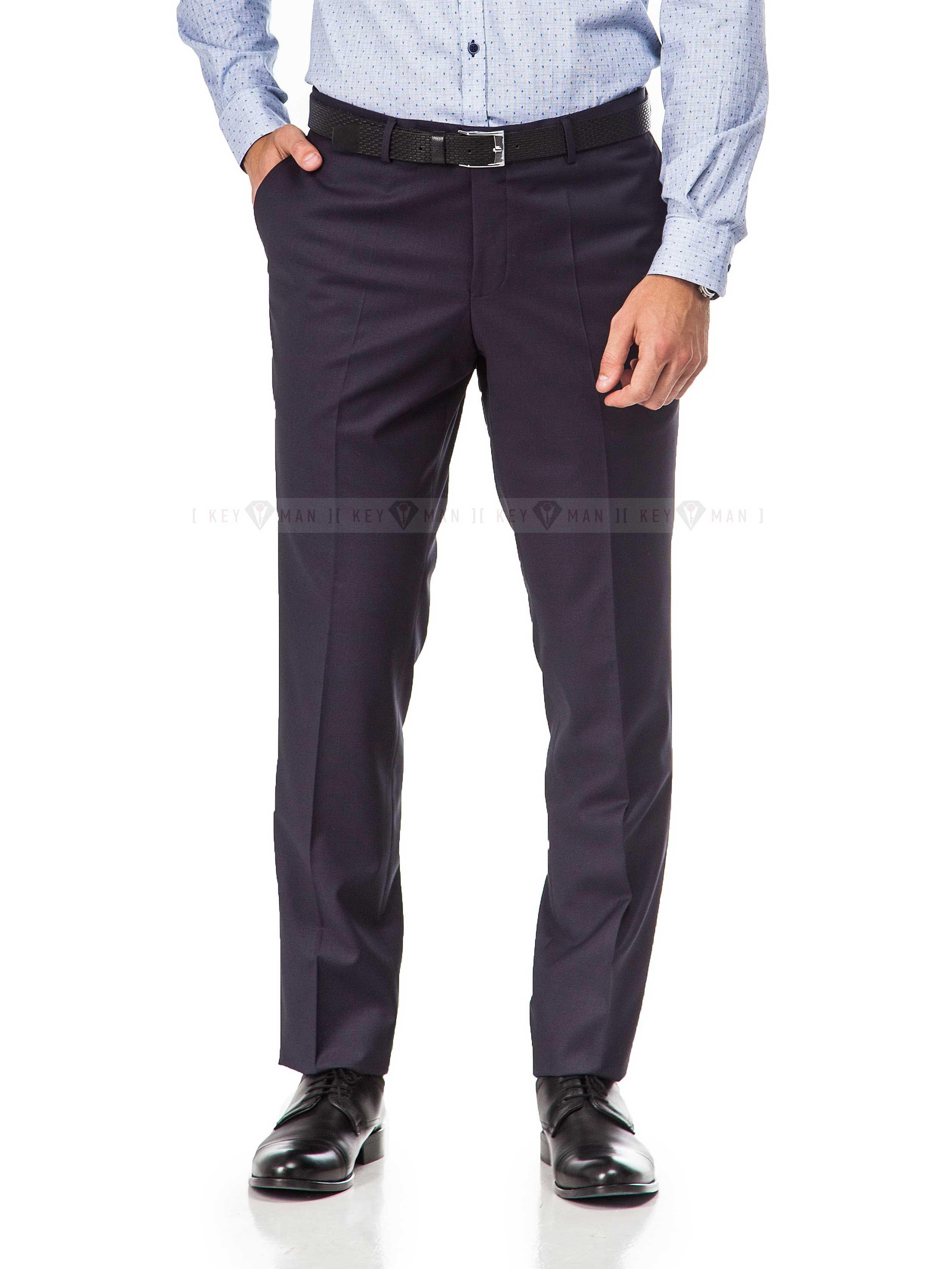Брюки мужские темно-фиолетовые