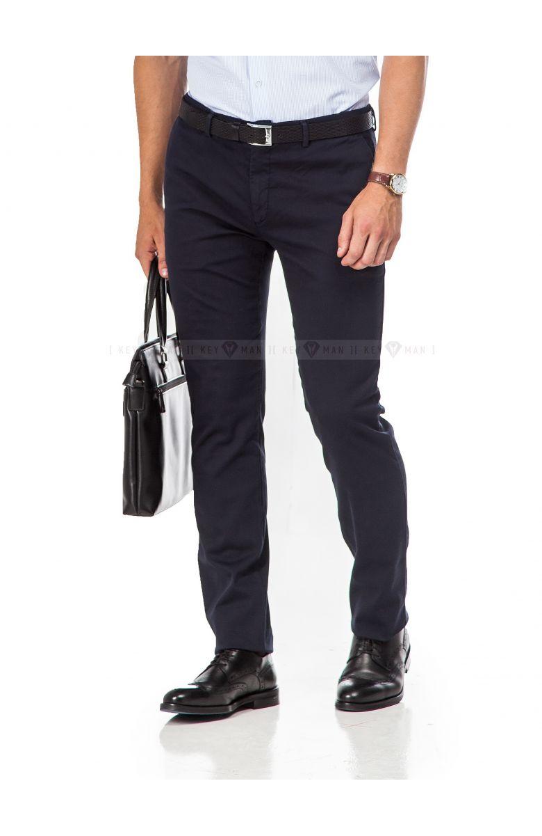 Брюки мужские чинос темно-синие