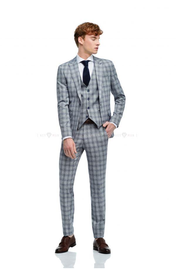 6c6fbbe45901 Мужские костюмы в клетку по доступной цене – Keyman