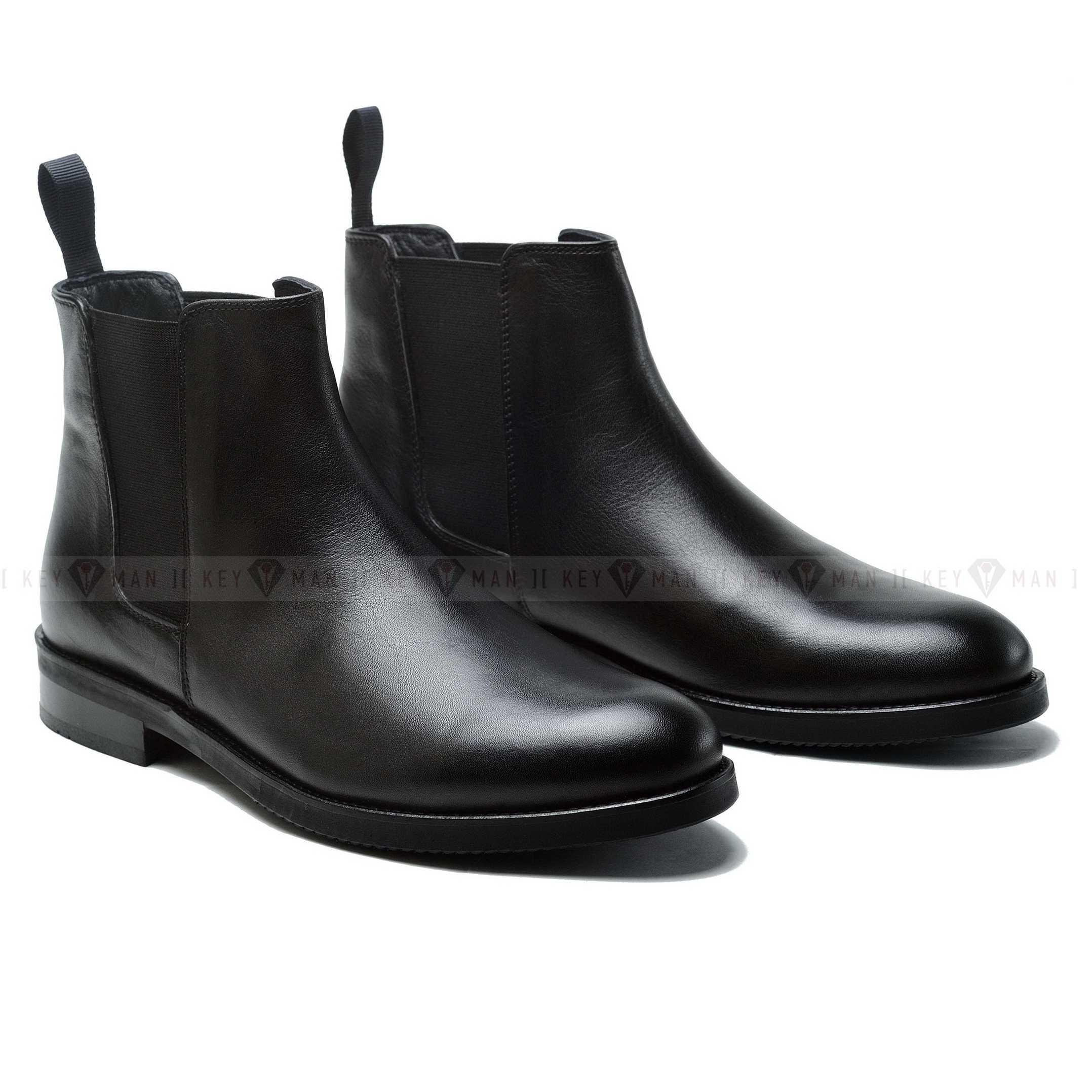 Ботинки мужские челси черные