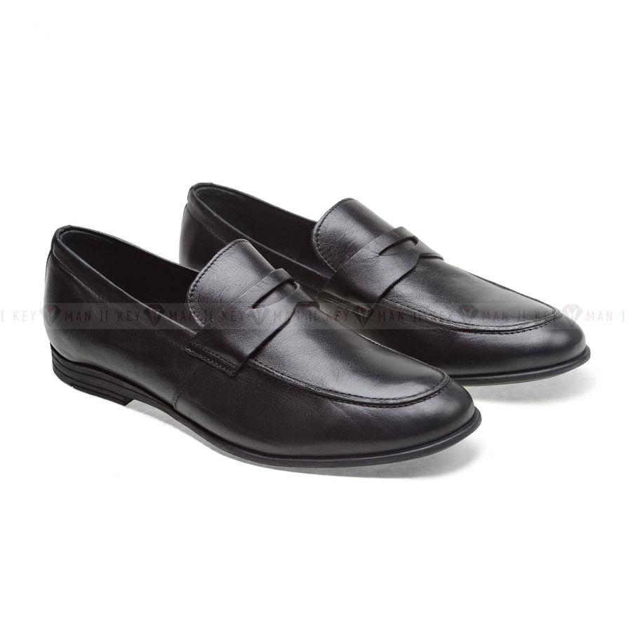 Туфли мужские лоферы черные (Penny Loafers)