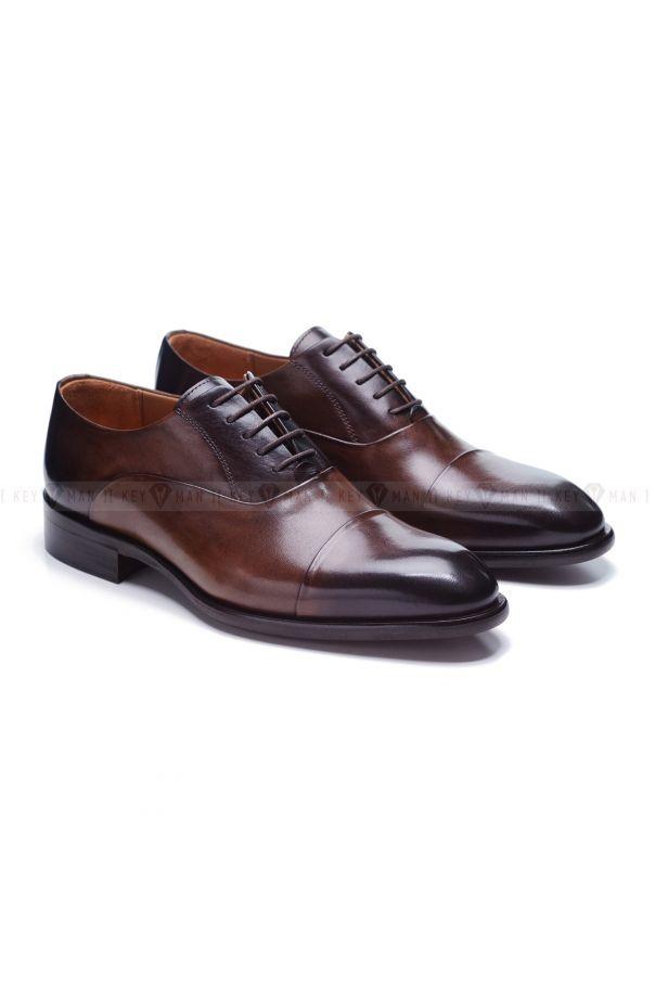 Туфли мужские оксфорды классические коричневые
