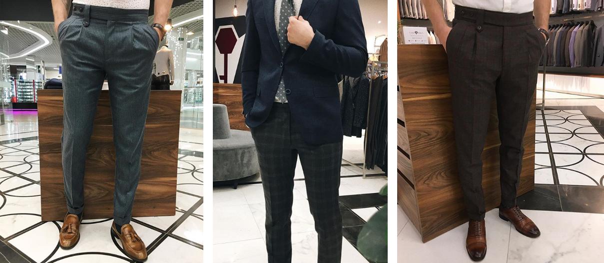 Подбор мужских брюк