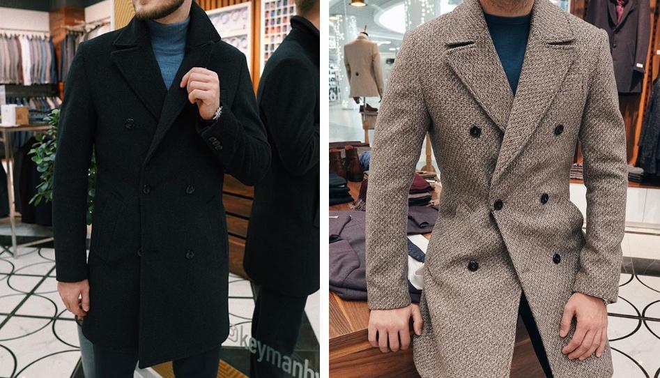 Особенности выбора двубортного пальто для мужчины