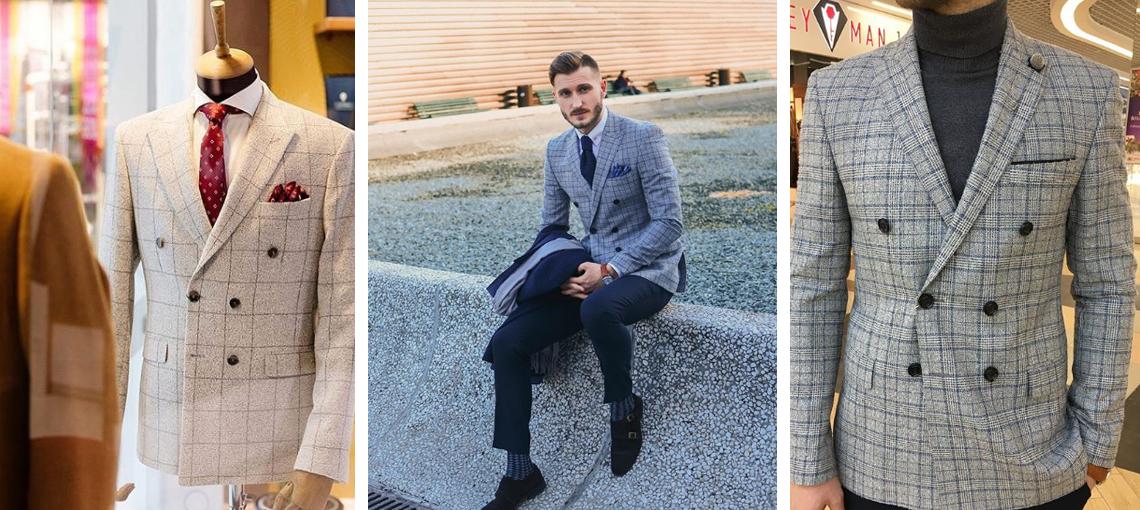 Выбор мужского пиджака