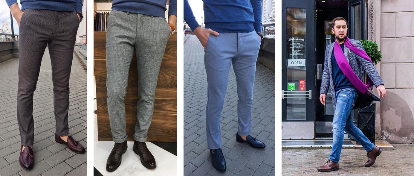 Как выбрать джинсы и брюки-чинос на весну