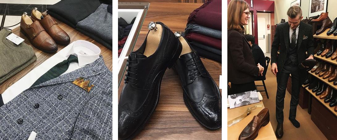 Подбор классических мужских туфлей
