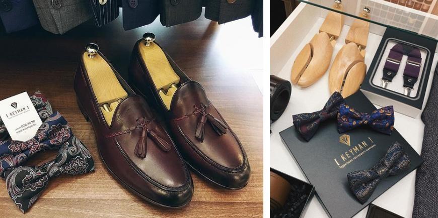 Деревянные мужские колодки для обуви