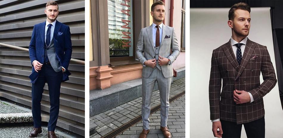 Выбор мужского костюма