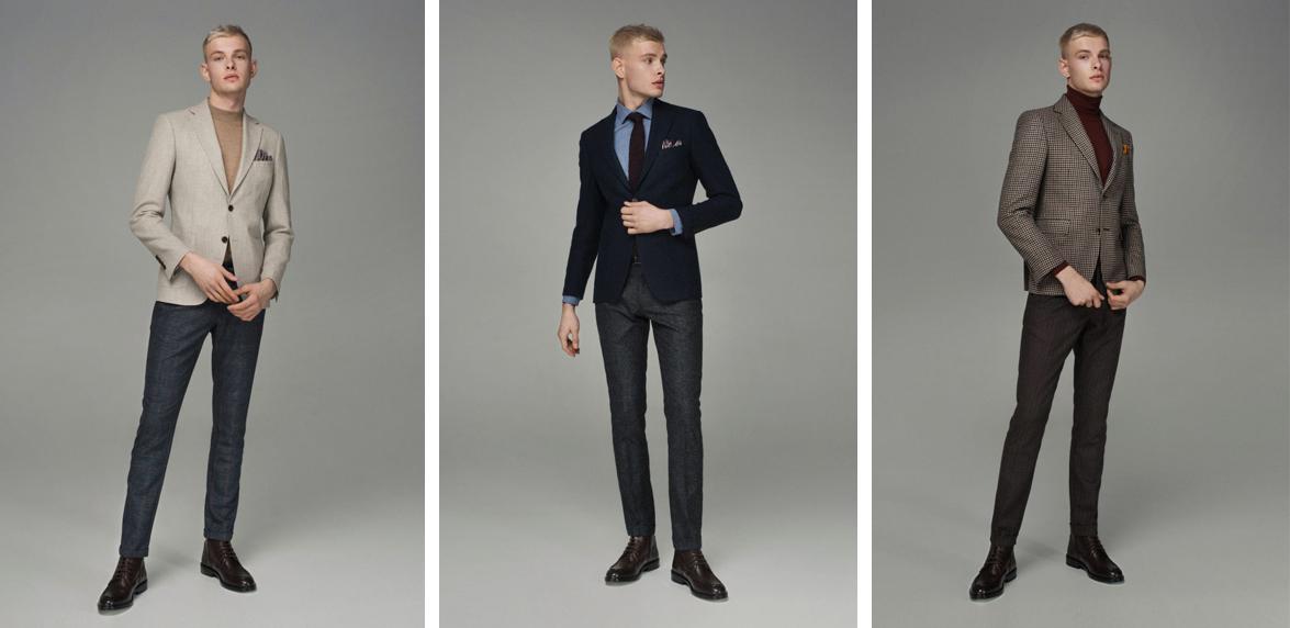 Выбор приталенного пиджака