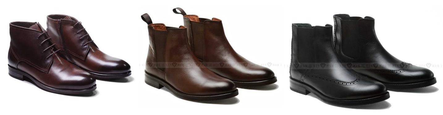 Какие существуют модели мужских ботинок
