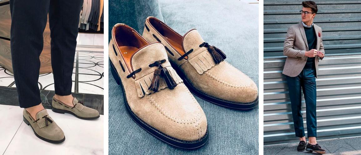 Купить замшевые туфли Keyman