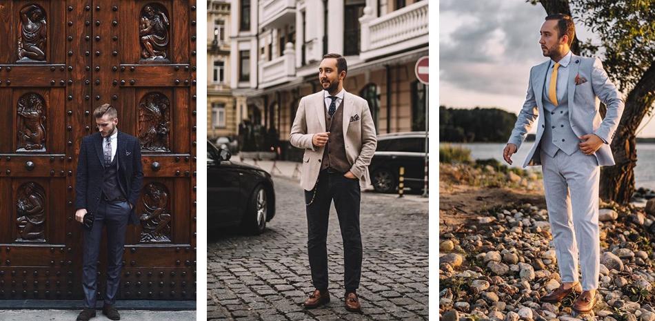 Как выбрать мужской костюм-тройку