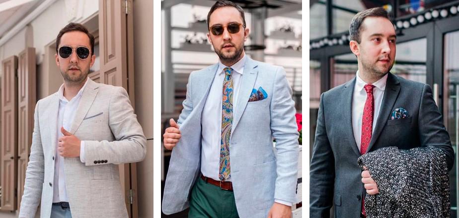 Как выбрать мужской пиджак на свадьбу