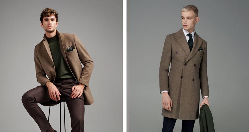 Выбор бежевого пальто