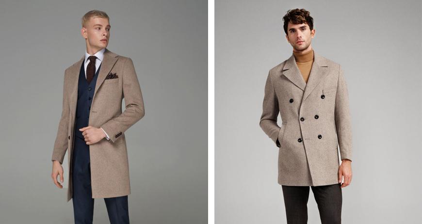 С чем носить бежевое пальто