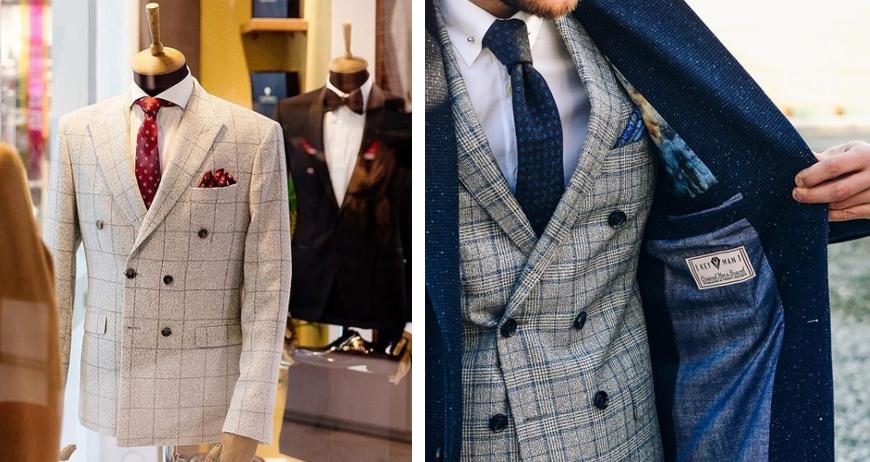 Преимущества двубортных пиджаков