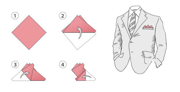 Платок с тремя углами