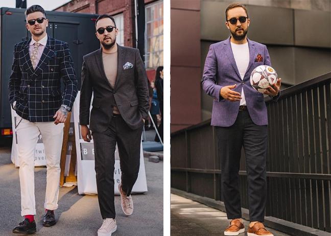 Как выбрать приталенный мужской пиджак
