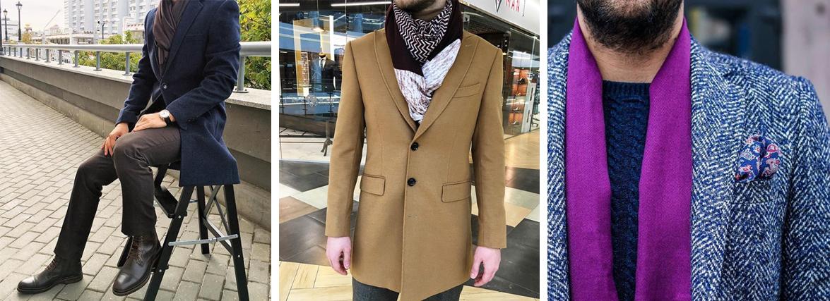 Способы стильного завязывания шарфов