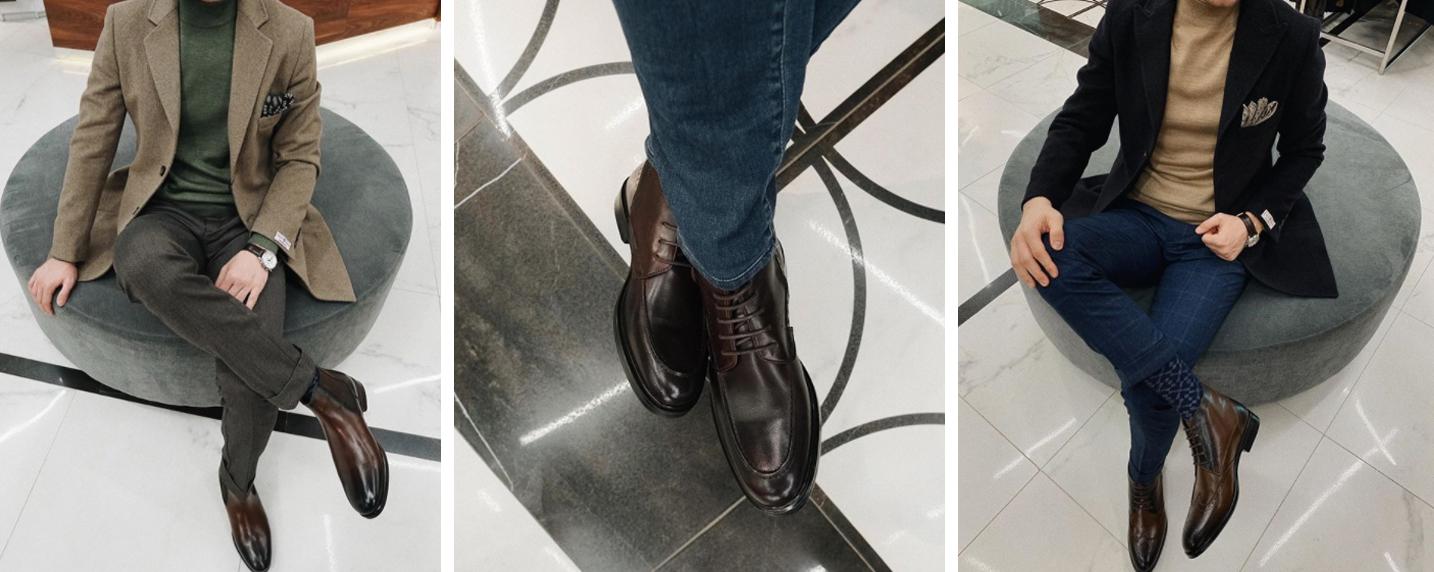 Как выбрать удобные мужские ботинки
